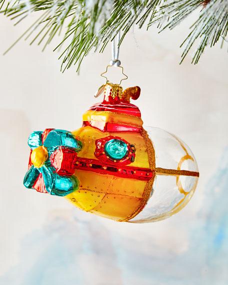 Submarine Claus Ornament