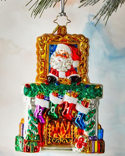 2019 Fireside Christmas Ornament