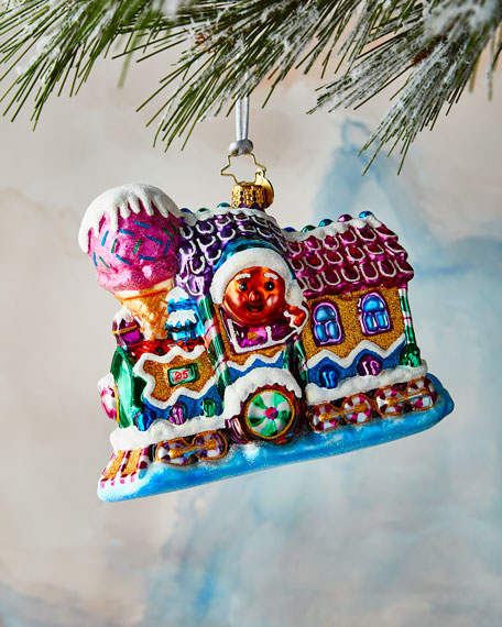 Christopher Radko Livin' La Vida Locomotive Ornament