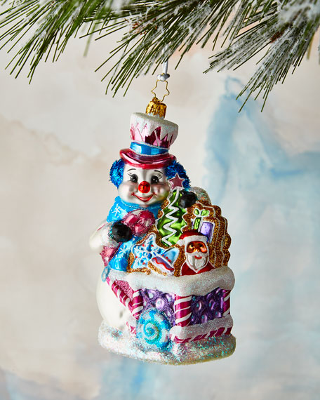 Christopher Radko Tasty Snow Confectionery Ornament