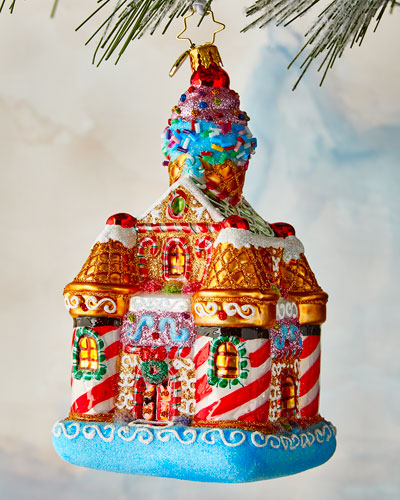 Sweetest Castle Around Ornament