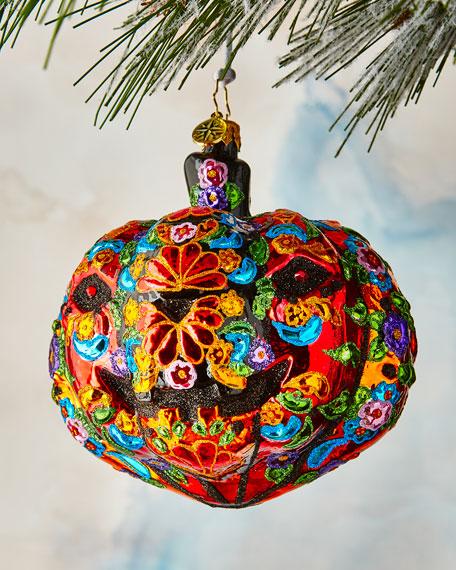 Dia De Los Muertos Pumpkin Ornament