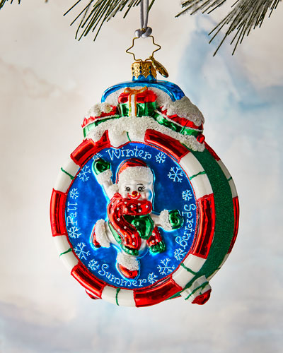 Christmas Time Ornament