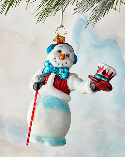 Hats Off Snowman Ornament