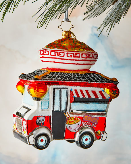 Christopher Radko Ramen Roadster Ornament