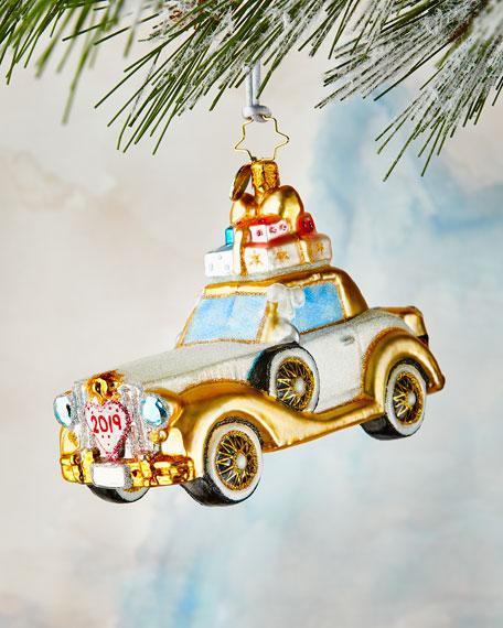 Christopher Radko Wedding Bliss Chariot Ornament
