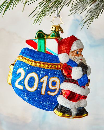 Santa's 2019 Delivery Ornament