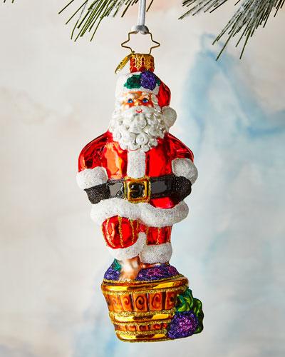 Santa's Christmas Spirit Ornament