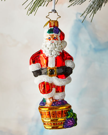 Christopher Radko Santa's Christmas Spirit Ornament