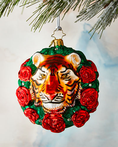 Fierce Feline Ornament