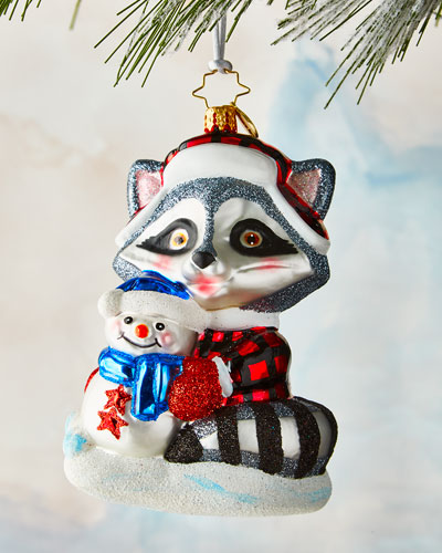 Rambunctious Raccoon Ornament