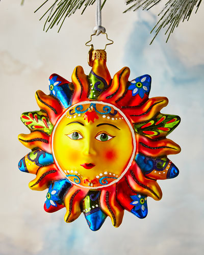 Blazing Sun Ornament