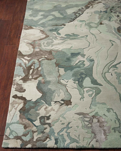 Julia Hand-Tufted One Of a Kind Rug  7'9 x 9'9