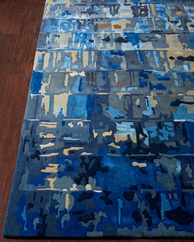 Lewis Hand-Tufted One Of a Kind Rug  7'9 x 9'9