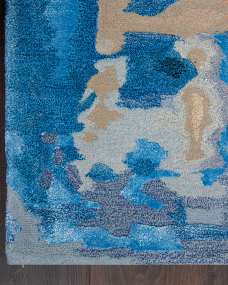 "Claude Hand-Tufted One Of a Kind Rug, 7'9"" x 9'9"""