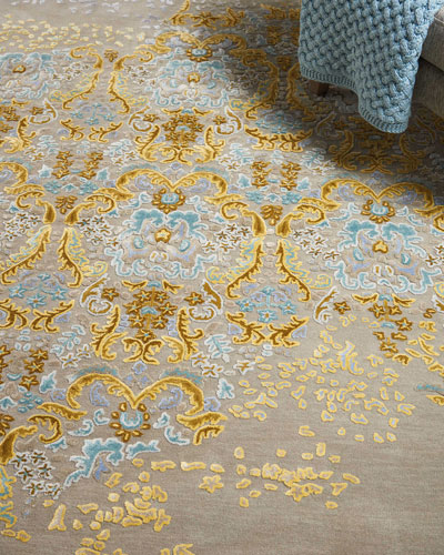 Faye Hand-Tufted One Of a Kind Rug  7'9 x 9'9