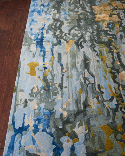 Gable Hand-Tufted One Of a Kind Rug  7'9 x 9'9