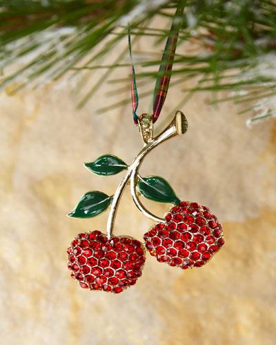 Cherry Hanging Ornament