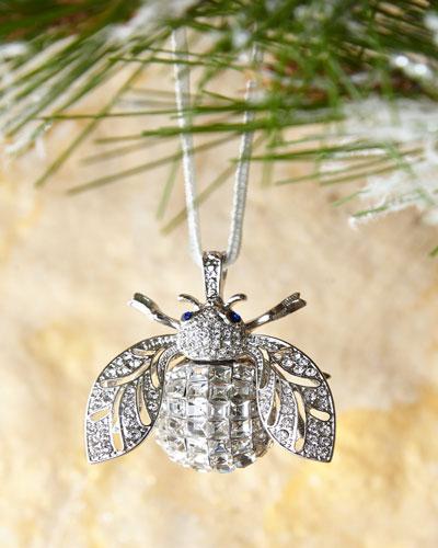 Sparkle Bee Crystal Ornament