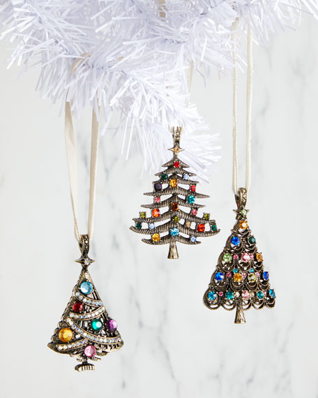Joanna Buchanan Jeweled Trees, Set of 3