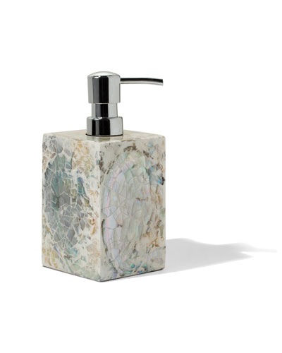 Mother-of-Pearl Soap Dispenser