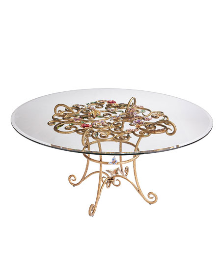 Floral Dining Table