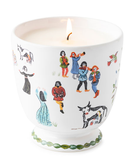 Twelve Days of Christmas Scented Candle