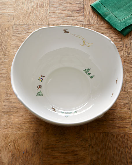 "Berry & Thread North Pole 10"" Serving Bowl"