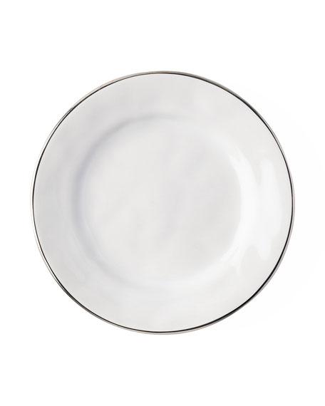 Puro Side/Cocktail Plate with Platinum Rim