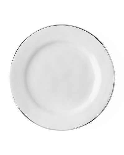 Puro Dessert/Salad Plate with Platinum Rim