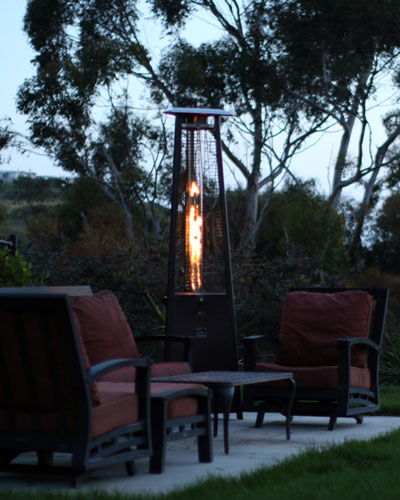 Prism Patio Heater with Remote  Bronze