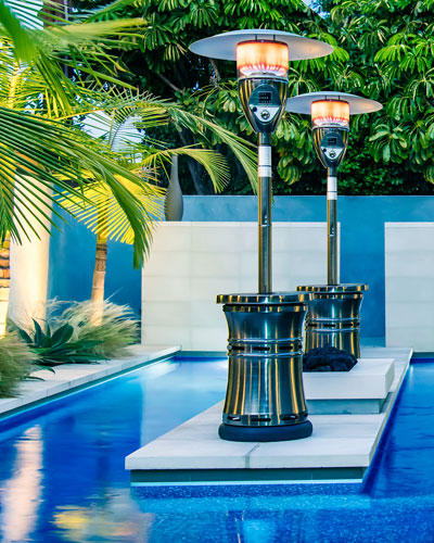 Halo Patio Heater  Bronze