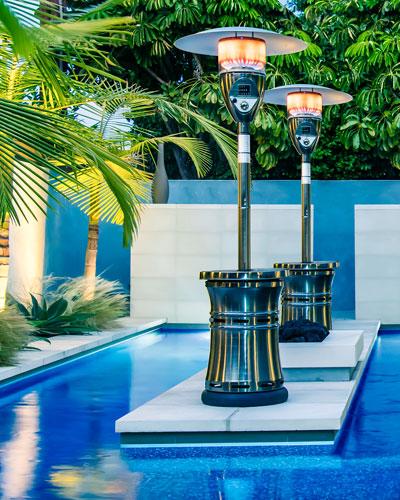 Halo Patio Heater  Bronze