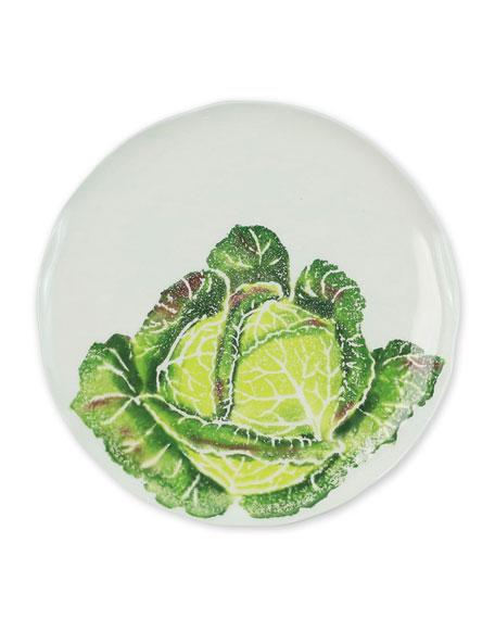 Vietri Spring Vegetables Cabbage Salad Plate