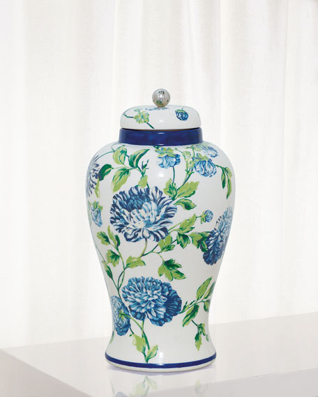 Williamsburg for Port 68 Charlotte Jar, Blue