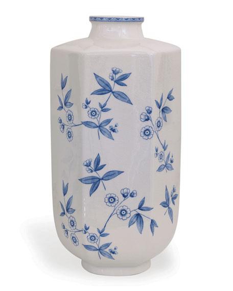 Temba Large Vase, Blue