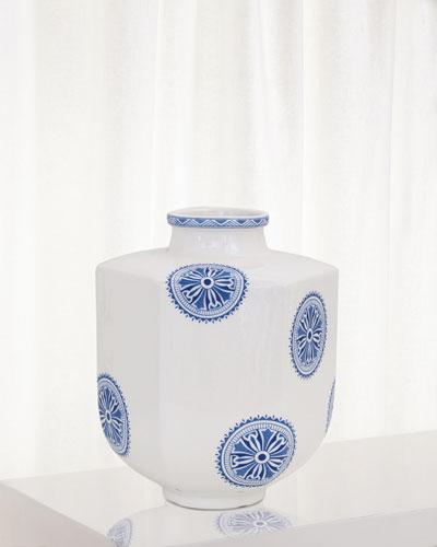 Temba Small Vase  Blue