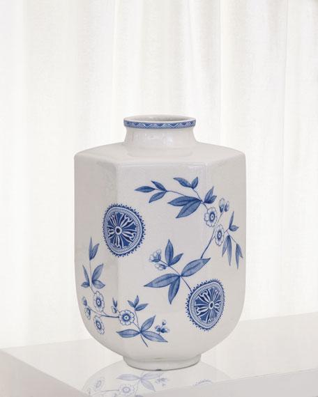 Temba Medium Vase, Blue