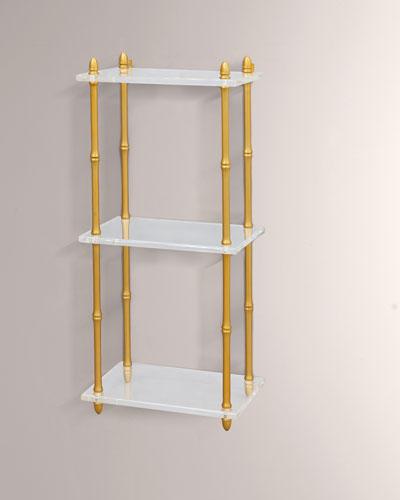 Carmel Lucite Shelf