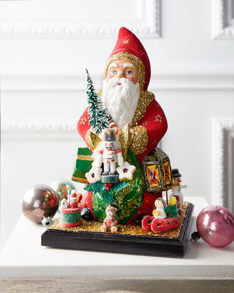 Ino Schaller Santa with Toys & Gifts Paper