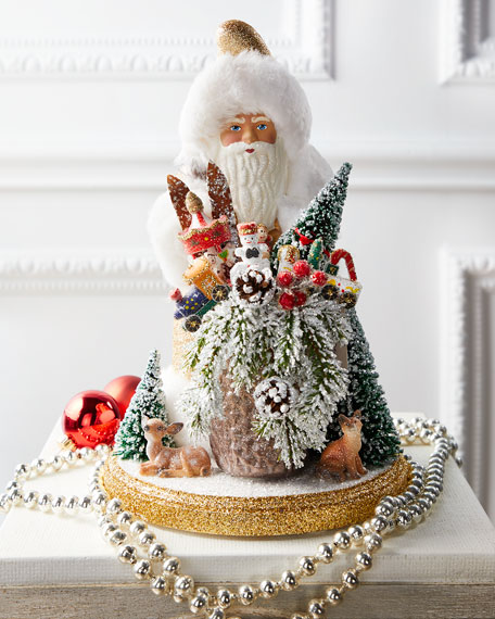 Ino Schaller Gold Deco Santa
