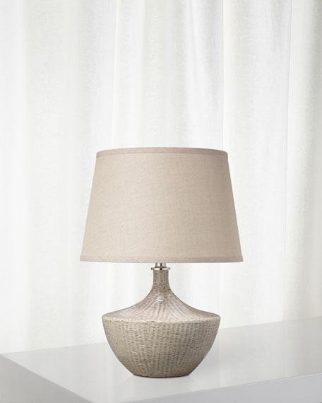 Jamie Young Basketweave Table Lamp