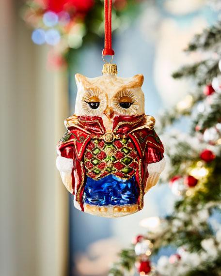 Classic Owl Christmas Ornament