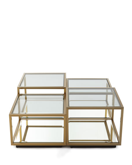 Noel Glass Coffee Table