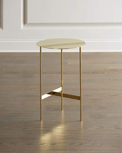 Spring Valley Cat Side Table.Marble Mirrored Coffee Tables At Neiman Marcus Horchow