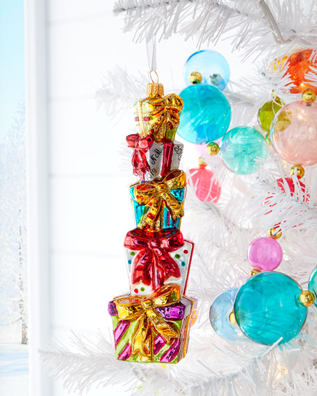 Present Stack Christmas Ornament