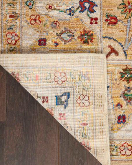 """Mari Loom-Woven Rug, 7'9"""" x 9'9"""""""