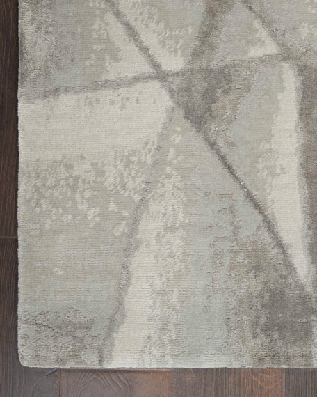 Angulaire Hand-Knotted Rug, 8' x 10'