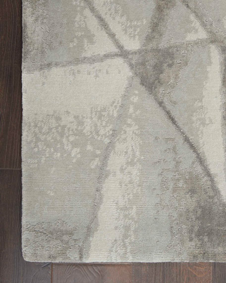 Angulaire Hand-Knotted Rug, 9' x 12'