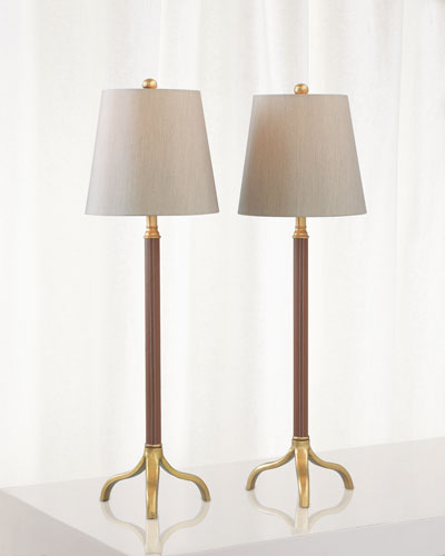 Portobello Buffet Lamps  Set of 2